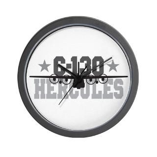 Air Force Gifts  Air Force Home Decor  C 130 Hercules Wall Clock