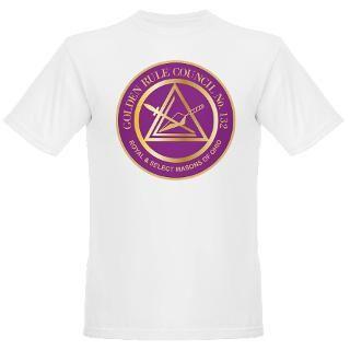 Golden Rule Council No. 132 Organic Mens T Shirt