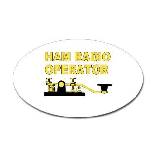 Ham Amateur Radio Stickers  Car Bumper Stickers, Decals