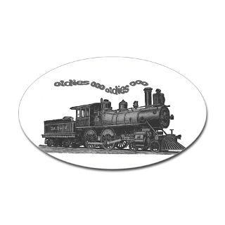 Steam Engine Stickers  Car Bumper Stickers, Decals