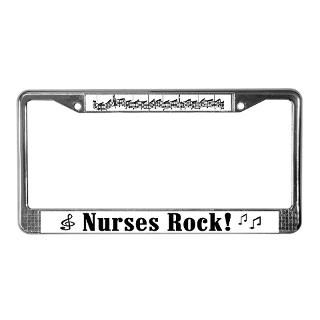 Rock N Roll License Plate Frame  Buy Rock N Roll Car License Plate