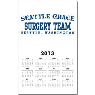Surgery Team   Seattle Grace Calendar Print