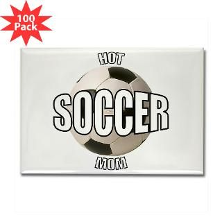 hot soccer mom rectangle magnet 100 pack $ 153 59