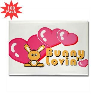 bunny love rectangle magnet 100 pack $ 164 99