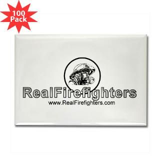 real firefighters logo rectangle magnet 100 pack $ 159 99