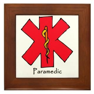 Paramedic Symbol Framed Art Tiles  Buy Paramedic Symbol Framed Tile