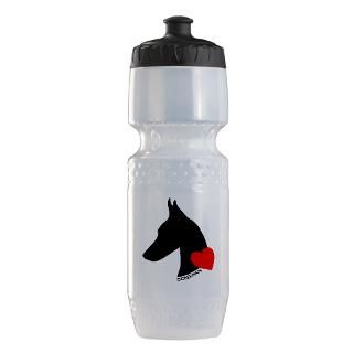 Doberman Water Bottles  Custom Doberman SIGGs