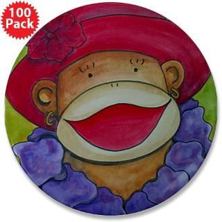 red hat sock monkey 3 5 button 100 pack $ 167 99