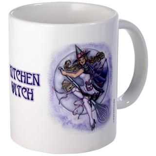 Kitchen Witch Mugs  Buy Kitchen Witch Coffee Mugs Online