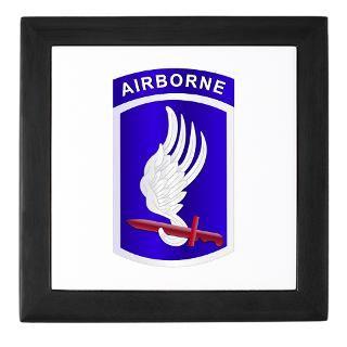 173Rd Airborne Keepsake Boxes  173Rd Airborne Memory Box