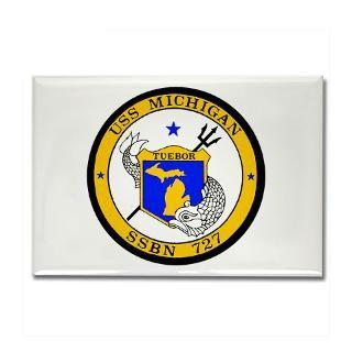 US Navy USS Michigan SSBN 727 / SSGN 727 T shirts  USA NAVY PRIDE