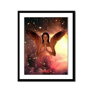 185 Angel: Framed Panel Print > Framed Angel Prints > Angel Art