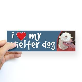 Love Pitbulls Stickers  I Love Pitbulls Bumper Stickers