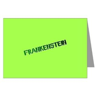 Bday Party Greeting Cards  FRANKENSTEIN INVITATIONS/GREETING CARDS
