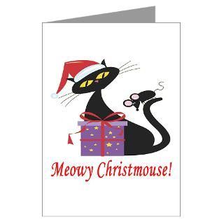 Cat Christmas Greeting Cards  Buy Cat Christmas Cards