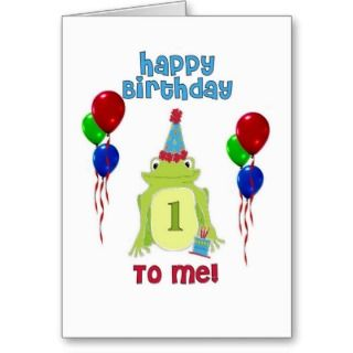 Frog Birthday Greeting Cards, Note Cards and Frog Birthday Greeting