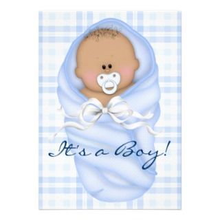 baby shower invitations african american baby boy shower invitations