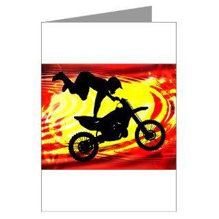 Dirt Biker Greeting Cards  Buy Dirt Biker Cards