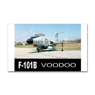 Air Force Gifts  Air Force Bumper Stickers  F 101 VOODOO FIGHTER