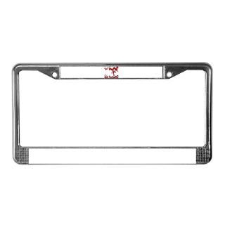NACI (822 CRIMSON) License Plate Frame for