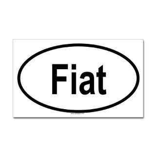 Fiat Stickers  Car Bumper Stickers, Decals