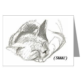 Jenny Shhh Greeting Cards 10 Pack for