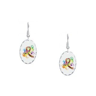 Asd Gifts  Asd Jewelry  Autism Awareness Believe Earring Oval Charm