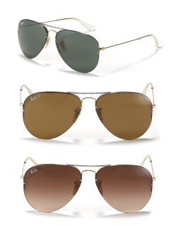 Ray Ban Light Ray Aviator Sunglasses