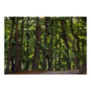 Morning Light Landscape Painting Custom Invitations