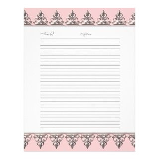 Wedding Gues Book Pages Classic Baroque Swirl Flyers