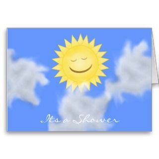 Sunshine Collection Party Invitation Greeting Cards