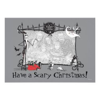 Nightmare Before Christmas Holiday Card Custom Invites