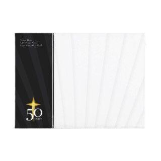 Customizable 50 Year Church Anniversary Envelopes