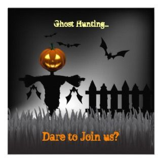 Were going Halloween Ghost Hunting Do you dare? Personalized