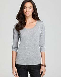 scoop neck tee price $ 118 00 color pewter size x small quantity 1 2