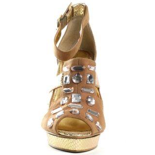 Ashlyn   Camel/Gold, Baby Phat, $48.50