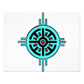 Native American Indian Art #010 Custom Announcements