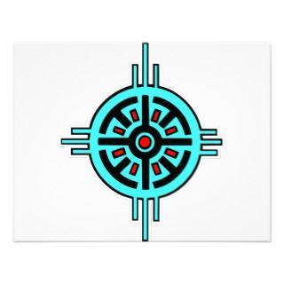 Native American Indian Art #010 Custom Announcements