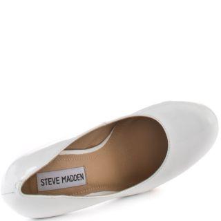 Bevv C   White Patent, Steve Madden, $79.99