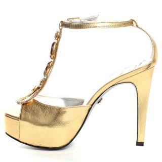 High Shine Heel   Gold, Dereon, $97.99,