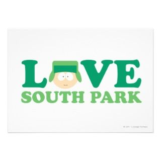 Kyle   Love South Park Invitation