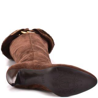 Bolim   Brown Multi Suede, Guess, $164.99