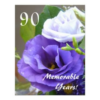 Memorable Years! Birthday Celebration/+Quote Personalized Announcement