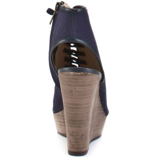 Treppidd – Navy Fabric, Steve Madden, $84.99