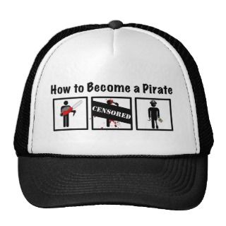 how to make captain hook hat