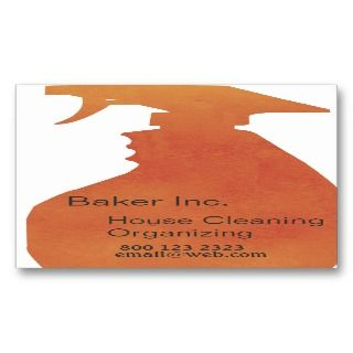 Domestic House Cleaning Professional Business Cards