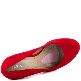 Paris Hiltons Red Amber   Red Suede for 99.99