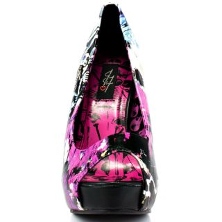 Iron Fists Multi Color Love Shock Platform   Black for 49.99