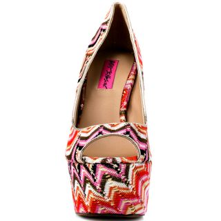 Betsey Johnsons Multi Color Barrdot   Pink Multi for 134.99