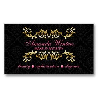 2011 Socialite Designs. Elegant business card design with gold